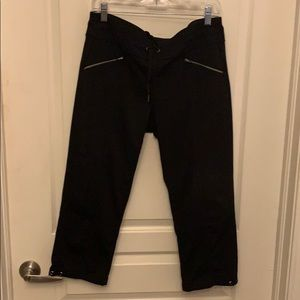 Athleta Drawstring Capri Pants
